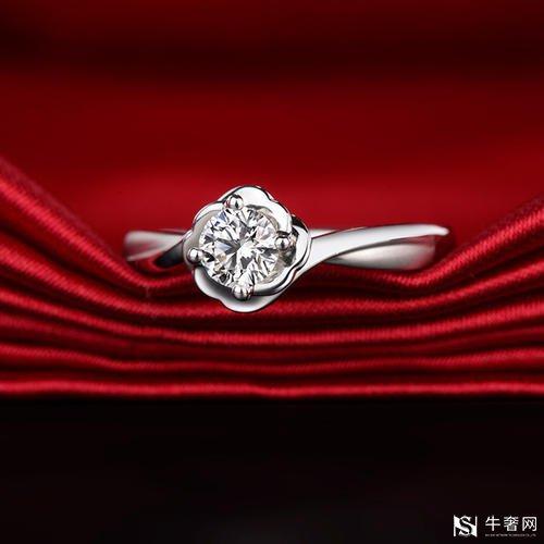 深圳周生生的60分钻石戒指回收