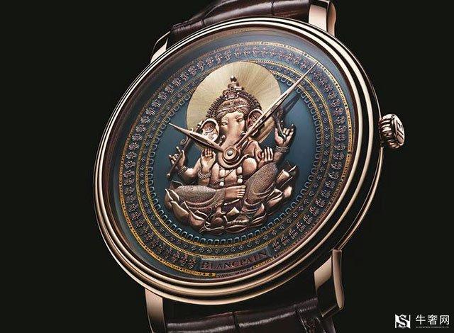 深圳宝珀手表回收,