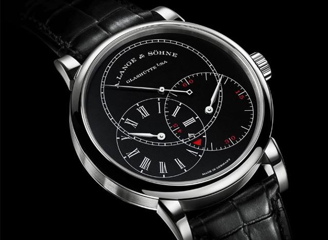 深圳朗格1815 TOURBILLON珐琅盘手表能回收